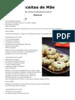 biscoito mantecal