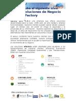 Carta de Presentación eFactory ERP-CRM en La Nube V3