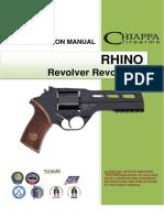 Chiappa Rhino Revolver User Manual