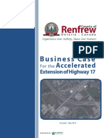Renfrew County business case for accelerated Highway 417 extension