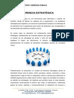 01 Gerencia Estratégica Generalidades y Modelos