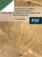 Evolution Of Western Cordillera