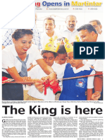 Burger King 16pgs Lift-Out in The Fiji Times  05.03.16