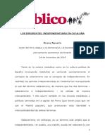 Los Errores Del Independentismo en Cataluña V0494 VDEF