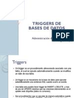 03-1 Triggers de BD - Concepto