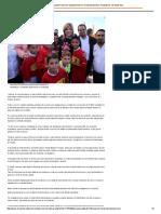 """15-02-16 Inicia Claudia Pavlovich equipamiento en Unidad Deportiva """"Andadores"""" de Santa Ana. -El Reportero"""