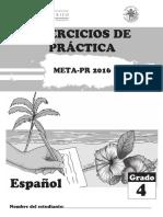 Ejercicios de Practica Espanol g4 20160316