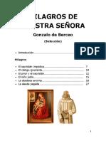 Milagros de Nuestra Señora (Selección)