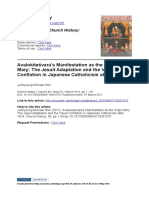[Junhyoung Michael Shin]Avalokiteśvara's Manifestation as the Virgin Mary the Jesuit Adaptation and the Visual Conflation in Japanese Catholicism After 1614