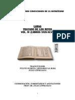 Lijing. Tratado de Los Ritos. Vol IV Lib