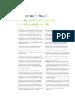 Procurement Fraud Investigative Techniques-Deloitte