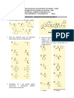 EXERCICIOS-aromaticosESTEREOQUÍMICA