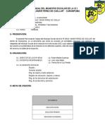 Plan Anual Municipio Escolar 2015