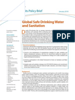G8 G20 Policy Brief - Water