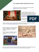 Un excelente servicio y negocio sobre reformas de casas Valladolid
