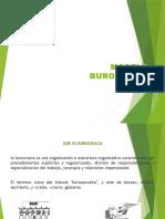 teoría administrativa de la burocracia