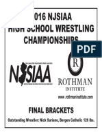 2016 NJSIAA Wrestling Final Tournament Report