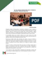 2016-03-07 Piden delegados del PRI a Enrique Serrano impulsar turismo en pequeños y medianos municipios