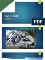 Zaha Hadid.hotel.sports Itati