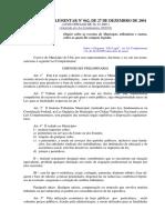 Lei Complementar Nº 062:2001 (Receitas Tributárias de Ubá:IsSQN)