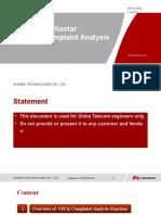 Nastar VIP and Complaint Analysis