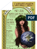 2010 Global Cannabis March Poster