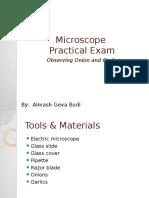 ujian praktik kelas 9 mikroskop