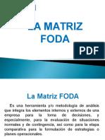 La Matriz Foda 2016.Ppt