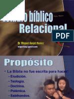 Estudio biblico relacional
