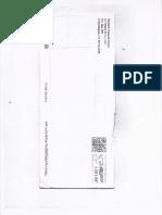 Gilardi & Co. Envelop Copy With Court of Justice Documents
