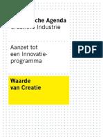 Visie en Strategische Agenda Creatieve Industrie