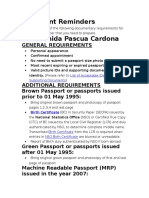 Passport Renewal Requirements