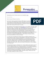 April 2010 Perspective Newsletter
