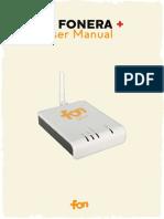 LA FONERA+ USER Manual m2201_1_01