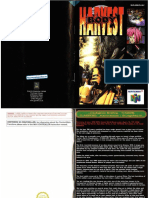 Body Harvest - UK Manual - N64