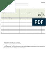 Format Data Usulan Sarpras 2016