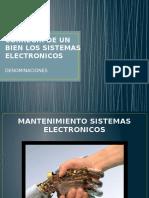 Los Sistemas Electronico David