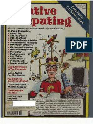Creative Computing V09 N10 1983 October Office Equipment Computing