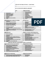 Chek List de Bombeiro Modelo
