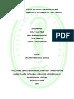 Proyecto Deterministico y Estocastico Ensiyola