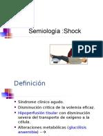 Medicina I - Shock