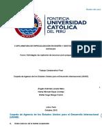 Carpeta de Agencia de los Estados Unidos para el Desarrollo Internacional (USAID)