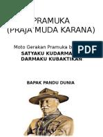 MATERI PRAMUKA PENGGALANG SD