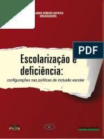 Livro Escolarização e Deficiência