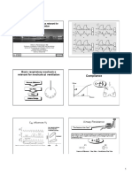 1) Basic Respiratory Mechanics Relevant for Mechanical Ventilation