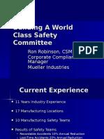 Building ESH World Class