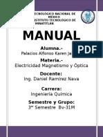 HOJA DE PRESENTACIÓN MANUAL