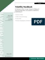 Volatility Handbook Final