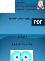 Unidad 3 Enlaces Químicos