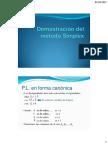 2.1 Demostración Del Método Simplex
